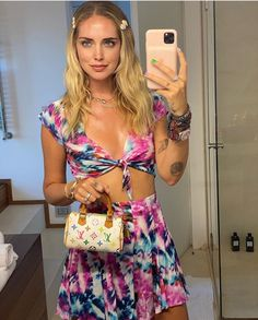 White Louis Vuitton, Nicole Warne, Stockholm Street Style, The Blonde Salad, Two Pieces, Star Fashion, My Girl, Celebrity Style, Two Piece Skirt Set