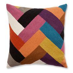 ACHICA   Zaida Parquet 45x45cm Cushion  £26