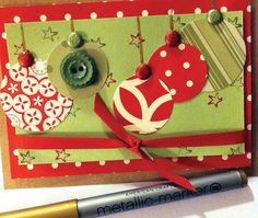 Homemade greeting cards   When it comes to holiday greetings, we love the paper kind. So we're launching a series of holiday-craft projects with three Christmas cards you can make. (2012)