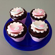 Cupcake passarinhos