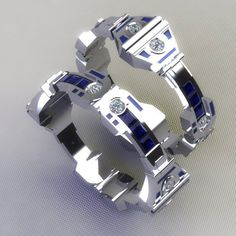 Amazing Geeky Rings : SO MANY WANTS!! Paul Michael Design makes these amazing geeky rings and other jewelry too! These are the CGI concepts, but he actually makes and sells them in his Etsy shop. If you're going to propose to a geek, these are the rings to do it with...