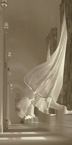 ~ blowing curtains ~