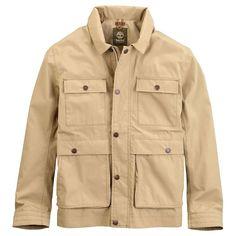 Timberland Men's Hyvent Baker Mountain Field Jacket - Large - Travertine