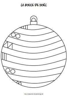 Risultati immagini per graphisme boule de noel Preschool Christmas, Christmas Crafts For Kids, Christmas Activities, Xmas Crafts, Christmas Balls, Christmas Colors, Winter Christmas, Christmas Themes, Kids Christmas