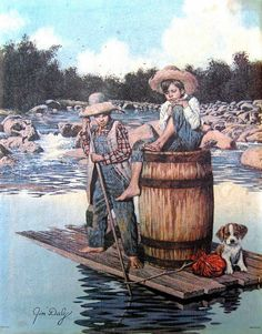 Jim Daly's Tom Sawyer and Huckleberry Finn