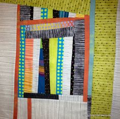 The Quilting Edge: Late Night Scrap Play