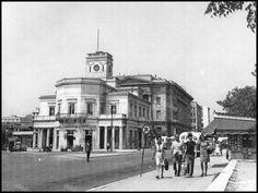 Το Δημαρχείο στα τελευταία χρόνια της ύπαρξής του.