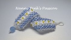 Tutorial  Daisy May Bracelet by NannyPinksPassion on Etsy, $10.00