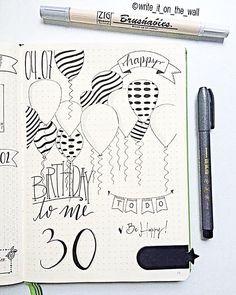 Today it's a special day  #happybirthday #leuchtturm #leuchtturm1917 #bulletjournal #bujo #handlettering #handlettered #moderncalligraphy #lettering #typography #calligraphy #calligraphyph #letteritjuly #type #typewriter #planner #planneraddict #handwriting #handtype #typespire #graphic #bulletjournaling #thedailytype #doodle #bulletjournaljunkies #journal  #bulletjournalcommunity #notebook #brushables #planwithmechallenge