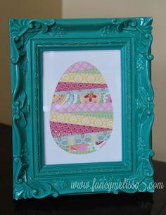 Easter Art created using Cricut Art Philosophy www.fancymelissa.com #ctmh #chantilly
