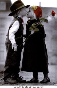 Dia do Beijo - Recados de Dia do Beijo - ClickGrátis