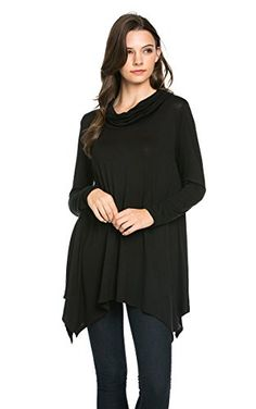 My Space Clothing Oversized Turtleneck Tunic Top BLACK Small My Space Clothing http://www.amazon.com/dp/B017L1874Q/ref=cm_sw_r_pi_dp_QYJSwb1ZY4VQT