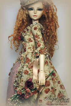 :: Crafty :: Doll :: Clothes 2 :: jardin des roses | by Madeleine Rose Couture