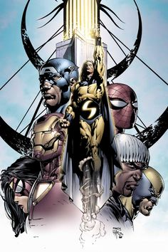 New Avengers by David Finch