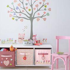 Bom dia!! Quarto mais que fofo né? #decoração #quarto #kids #girl #criança #menina #organizesemfrescuras