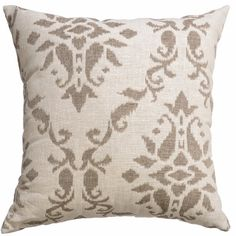 Add some style to your home with the Delmas Decorative Pillow Collection by Softline. These beautifully crafted pillows are made with luxurious quality fabrics that boast a beautiful jacquard design. Also available in coordinating curtain panels.