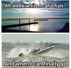 Lol. And if it's not the wind, it's the damn other boaters that are determined to run all over the lake instead of fishing. For God's sake,  anchor down or get off the water! #fishinghumor