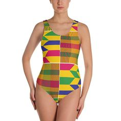 e2860910a1 ON SALE 15% OFF Kente Print-One-Piece Swimsuit-African-Afrocentric-Swimsuits-Swimwear-one-piece  swimsuit-bathing suits-African prints-Africa