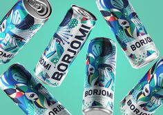 Georgian mineral water brand Borjomi likes taking on new challenges, applying fresh approaches and daring solutions in its ongoing efforts to evolve as a brand and reinvent its package design and advertising campaigns. Water Packaging, Water Branding, Beverage Packaging, Brand Packaging, Mineral Water Brands, Limited Edition Packaging, Traditional Taste, New Year Holidays, Article Design