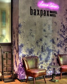 BAXPAX DOWNTOWN hostel by Julia Kosina, Berlin – Germany