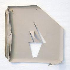 Paul Drissen, Vlak Achter. 2015, paper, 33x33x16cm