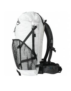 Hyperlite Mountain Gear 2400 Windrider A first choice for goal-oriented backpackers and thru hikers, our flagship 2400 Windrider ultralight pack offers the optimal balance of strength, weight, comfort and performance. Made with ultra-durable, 100% waterproof Dyneema® Composite Fabrics (formerly Cuben Fiber), this pack will help increase your speed, efficiency, distance and overall enjoyment outdoors.