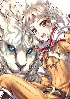 Nia & Dromarch (Xenoblade Chronicles 2)