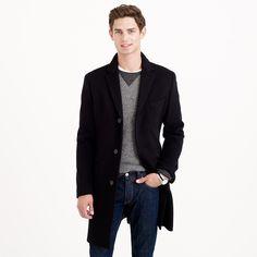 Ludlow topcoat in wool-cashmere : topcoats | J.Crew