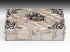 Mother of Pearl & Silver Box