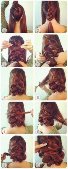 BRAIDED HAIR STYLE IDEAS