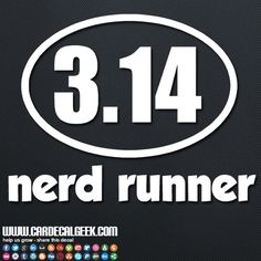 Alight, stop laughing all you nerds and add some nerd car decals to your cart. Slap a Nerd Runner Pi car decal on today! #nerdrunner #carsticker #sportscar #cardecal #cardecalgeek