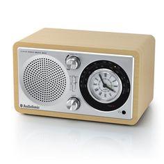 AudioSonic RD1541 Retro Radio Alarm Clock - Valdinia.com