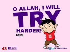 """#043 Ahmad Says: """"O Allah, I will try harder!"""""""