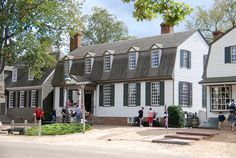 Colonial Williamsburg....Kings Arms Tavern