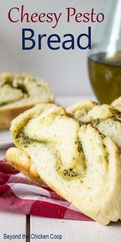 Cajun Delicacies Is A Lot More Than Just Yet Another Food Savory Bread Filled With Pesto And Parmesan Cheese. This Delicious Rolled Bread Is Perfect To Serve As An Appetizer Or With Your Favorite Italian Dinner. Cake Mix Recipes, Pudding Recipes, Pesto Cheese Bread, Good Food, Yummy Food, Delicious Recipes, Easy Recipes, Tasty, Healthy Recipes