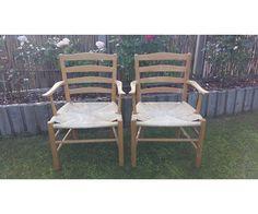 Kaare Klint, stol, Kirkestole med armlæn, 2 fine stole med