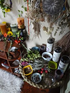 Wood Witch Of Rudd Hollow. I so desperately want my altar to look like this