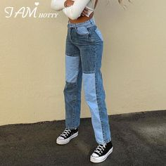 Skater Girl Outfits, Teen Fashion Outfits, Retro Outfits, Cute Casual Outfits, Look Fashion, Cute Jean Outfits, Outfits With Mom Jeans, Casual Jeans, Trendy Jeans