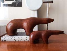 Bear Figures by Arne Tjomsland for Goodwill Produkter A/S Sandefjord, Norway…