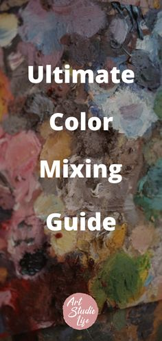 Color mixing with oil paints. Learn how to mix oil paints! This guide will give you a good basic understanding of what you need to know about color How To Start Painting, Oil Painting For Beginners, Learn To Paint, Painting Tips, Color Mixing Guide, Tertiary Color, Primary And Secondary Colors, Warm And Cool Colors, Complimentary Colors