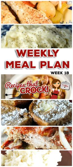 This week's weekly menu features Crock Pot All Day Chicken Dinner, Crock Pot Cubed Steak with Gravy, Crock Pot No Boil Mashed Potatoes, Crock Pot Chili Vegetable Ranch Hand Soup, Easy Crock Pot Italia (Cream Cheese Chicken Chili) Crockpot Dishes, Crock Pot Slow Cooker, Crock Pot Cooking, Slow Cooker Recipes, Crockpot Recipes, Cooking Recipes, Cube Steak Recipes, Dinner On A Budget, Cheese Squares