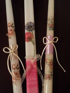 Λαμπάδες Easter Crafts, Unity, Decoupage, Favors, Gifts, Decor, Candles, Presents, Dekoration