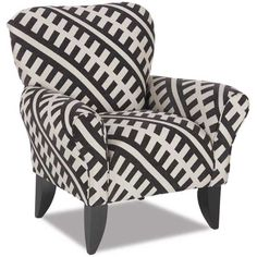 Zipper Taupe Accent Chair