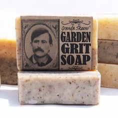 Garden Tea Tree Soap: Mechanics Lava-Type Anti-Bacterial Exfoliating