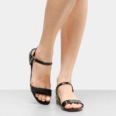Compre Rasteira Beira Rio Básica Preto na Zattini a nova loja de moda  online da Netshoes f44fd44825
