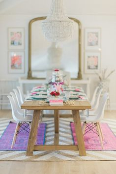 Valentine's Day home tour: http://www.stylemepretty.com/living/2017/02/10/tour-a-modern-home-all-decked-out-for-valentines-day/ Photography: Vicki Bartel - http://vickibartel.com/