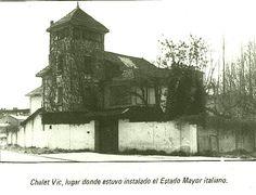 Chalet familia Vic(estado mayor italiano)