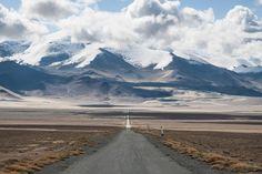 #Tajikistan #travel #road #mountains