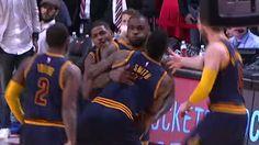 LeBron James Beats the Bulls at the Buzzer