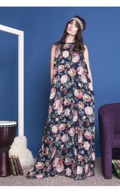 Длинное платье от Anna Yakovenko